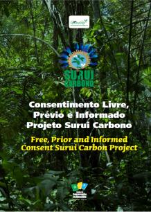 Consentimento livre, prévio e informado Projeto Surui Carbono