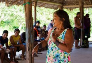 Reunião define cronograma de atividades com os Tembé, no Pará