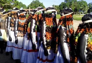 Danças, moqueados e as meninas moças Tembé
