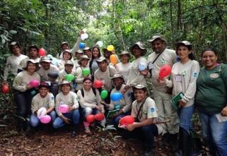Entre borboletas e balões: Guarda-parques conhecem estratégias de monitoramento da biodiversidade