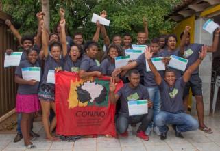 Capacitação reúne jovens quilombolas do Mato Grosso e Tocantins em Brasília