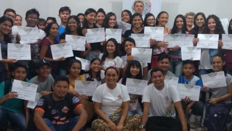 Digital Influencer foi tema de oficinas de Educomunicação realizadas pelo Programa Territórios Sustentável