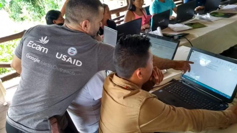 ECAM leva metodologia do uso de ferramenta ODK para o Equador