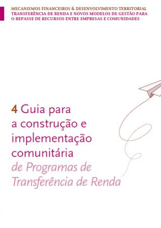 Guia para a construção e implementação comunitária – de programas de Transferência de Renda