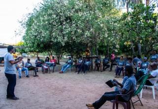 Comunidades quilombolas do Tocantins participam da oficina do Programa Compartilhando Mundos