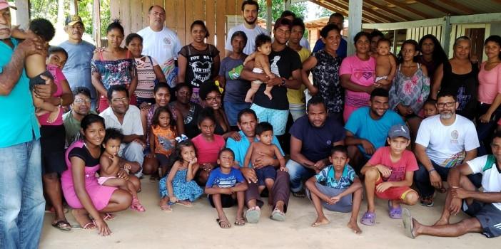 Quilombo Ariramba valida Plano de Vida e escolhe o conselho gestor do Fundo Quilombola.
