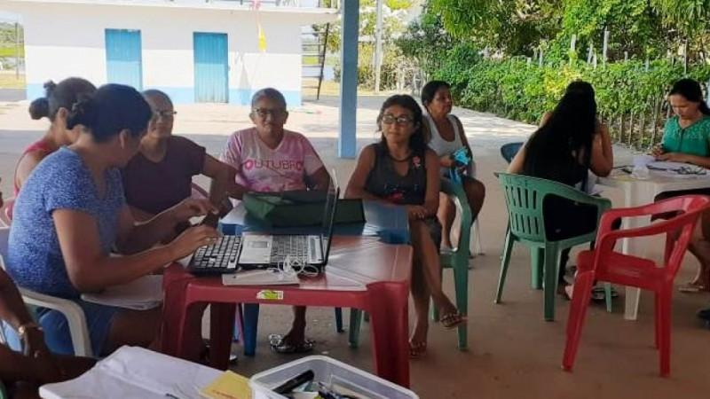 Elaboração de Projetos é tema do segundo módulo de oficina realizado em Terra Santa, Faro e Oriximiná.