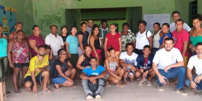 Moradores de Cachoeira Porteira iniciam a construção do Plano de Vida