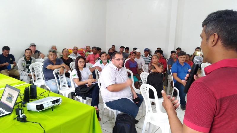 Pecuaristas de Prainha, Monte Alegre e Juruti participam de atividades voltadas à Pecuária Sustentável.