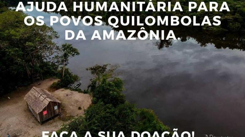 Arqmo cria campanha virtual para arrecadar recurso para ajudar comunidades quilombolas.