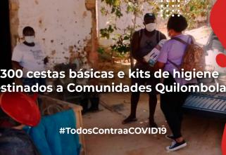 Ecam doa 1300 cestas básicas e kits de higiene a comunidades quilombolas