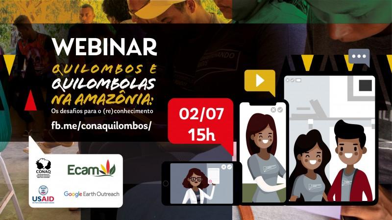Estudo inédito sobre a realidade socioeconômica de comunidades quilombolas da Amazônia Legal é apresentado em Webinar