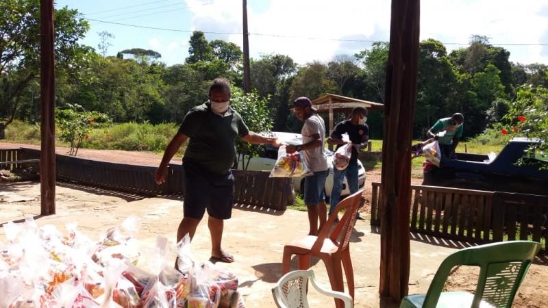 Campanha apoia mais de 200 famílias de comunidades quilombolas do Pará durante a pandemia