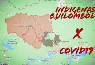 Mapas mostram a vulnerabilidade nas comunidades tradicionais da Amazônia diante da pandemia de COVID-19