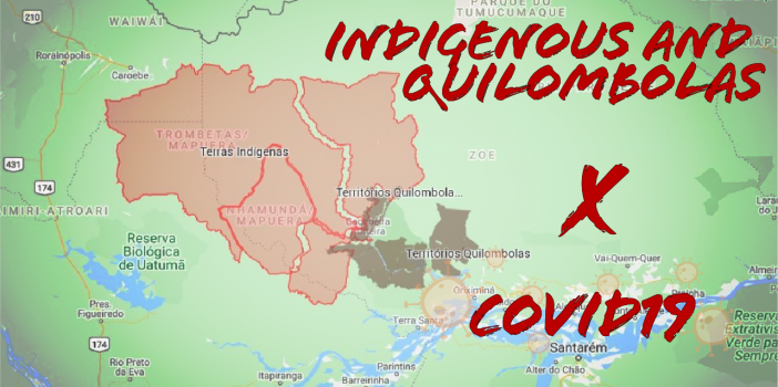 Maps show the vulnerability of traditional communities in the Amazon in the face of the COVID-19 pandemic