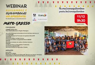 Quilombos do Mato Grosso realizam mais uma  etapa do programa Compartilhando Mundos