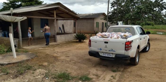 Projeto Quilombo Solidário: Renda e Produção entrega cestas básicas a  comunidades quilombolas de Rondônia