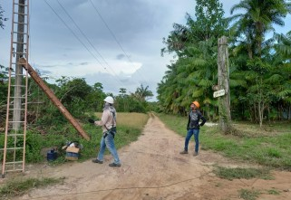 Comunidades quilombolas do Pará instalam redes de internet com aporte da Ecam Projetos Sociais